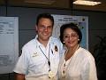 Captain Al Cruz Public Affairs Bureau Manager and Rachel