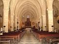 Vue intérieure de la 1ere Cathedrale en Amerique.