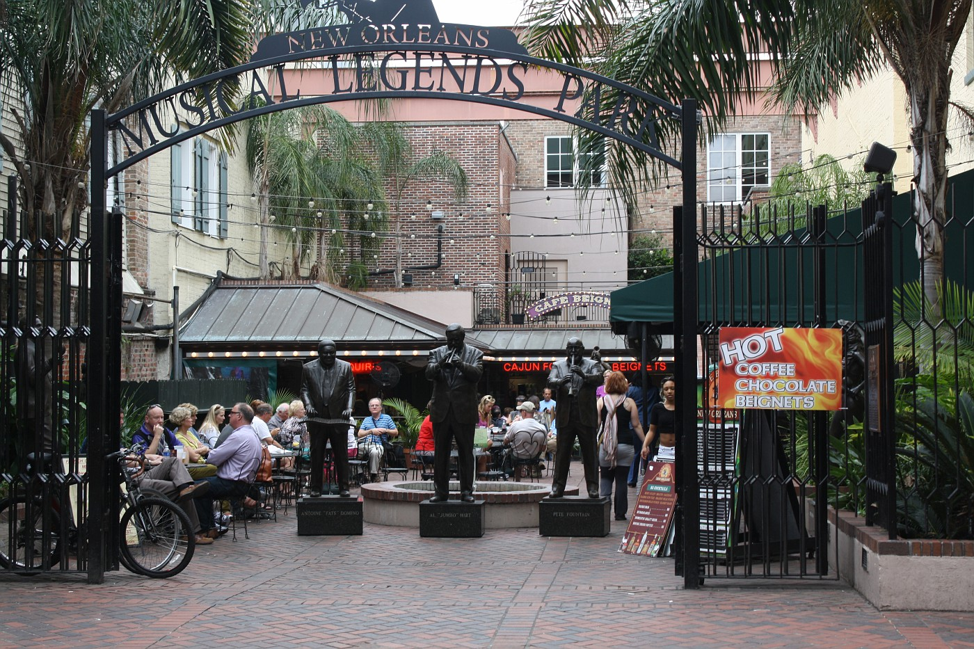 Our trip started in New Orleans where music is everywhere.