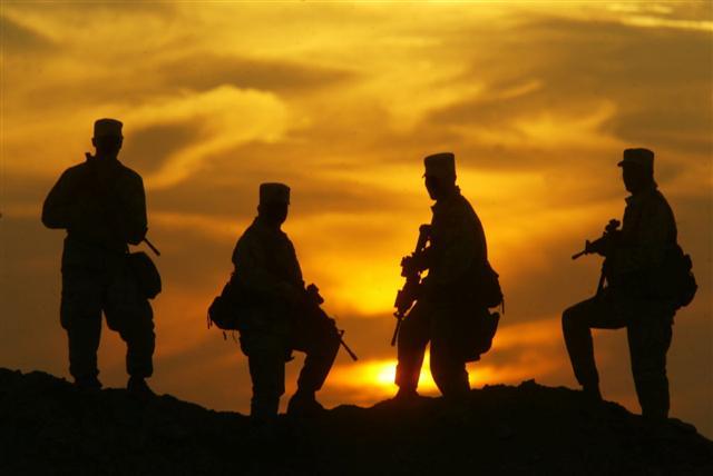 USA Airborne 101 in Iraq 030