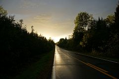 On Gunflint Trail after the rain