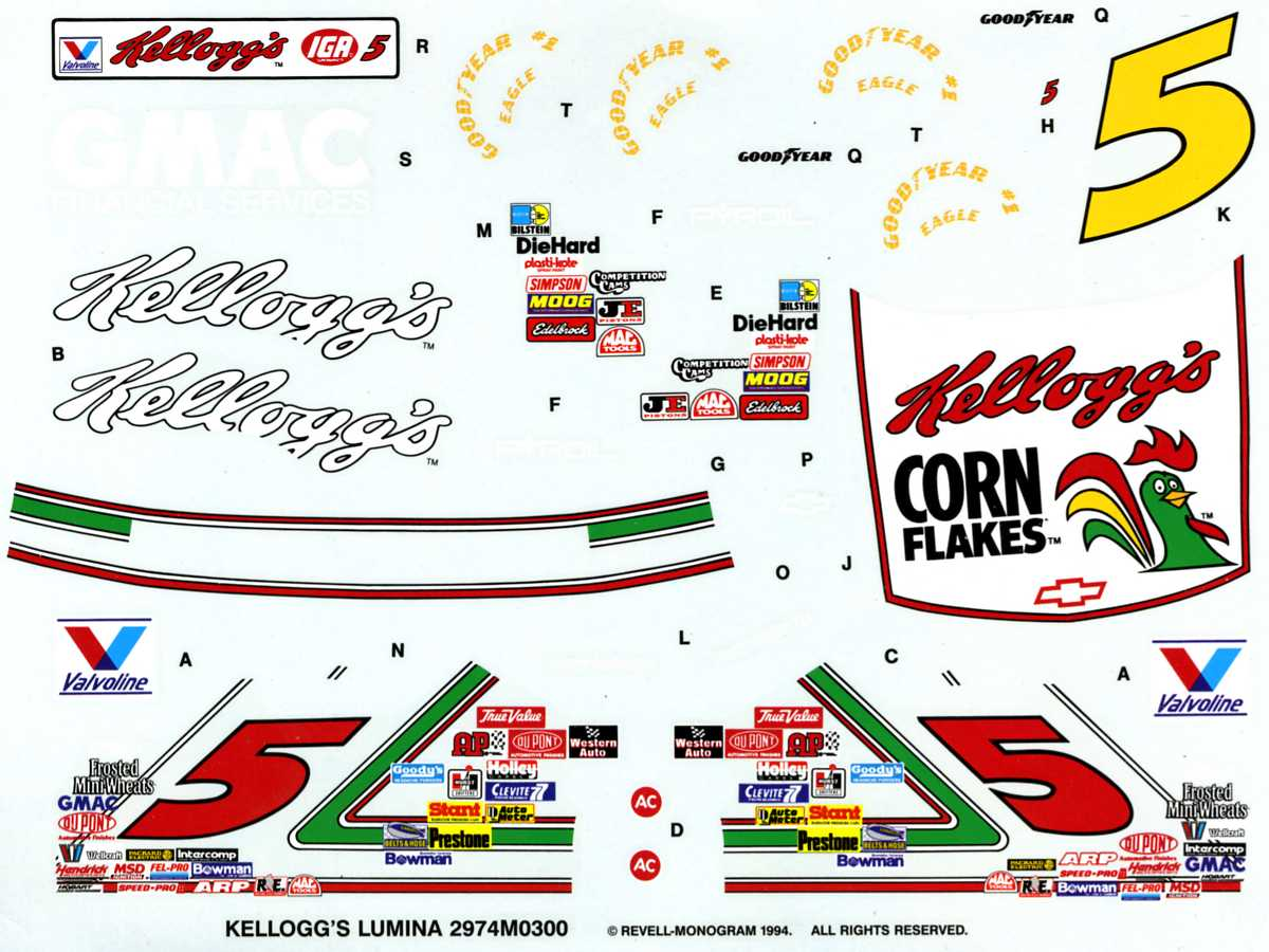 Monogram 1994 Terry Labonte 038