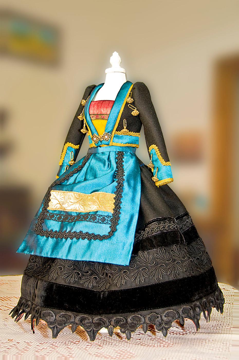 Vestido 3372 Valle del alto Arlanzón (Burgos)