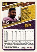1993 Topps #245 (2)