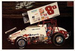 1989 World of Outlaws Oversize #8D