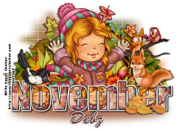 THEME OF THE DAY DebzNovemberNameByRiavi-vi