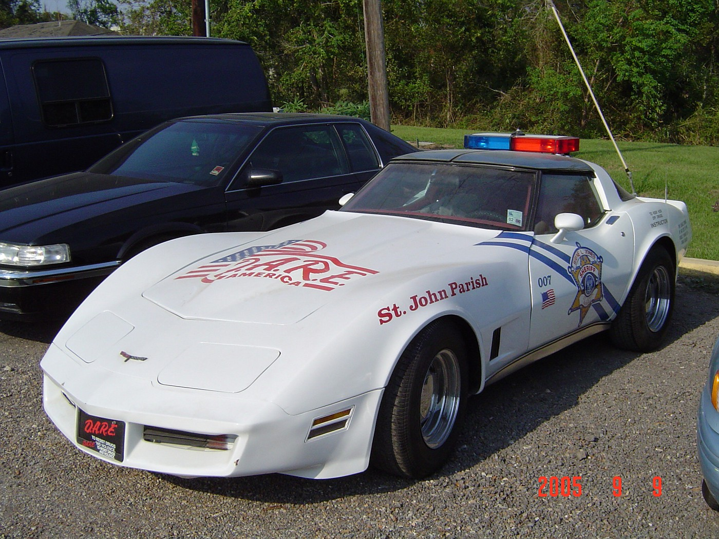 St. John Parish DARE Corvette