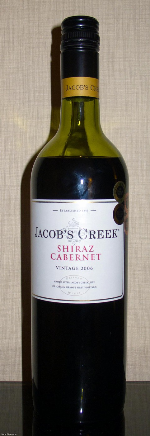 Jacob's Creek Shiraz – Cabernet 2006