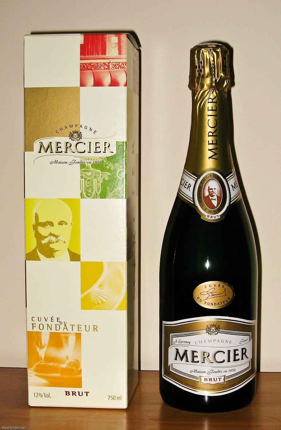 Champagne Mercier- Cuvee du Fondateur