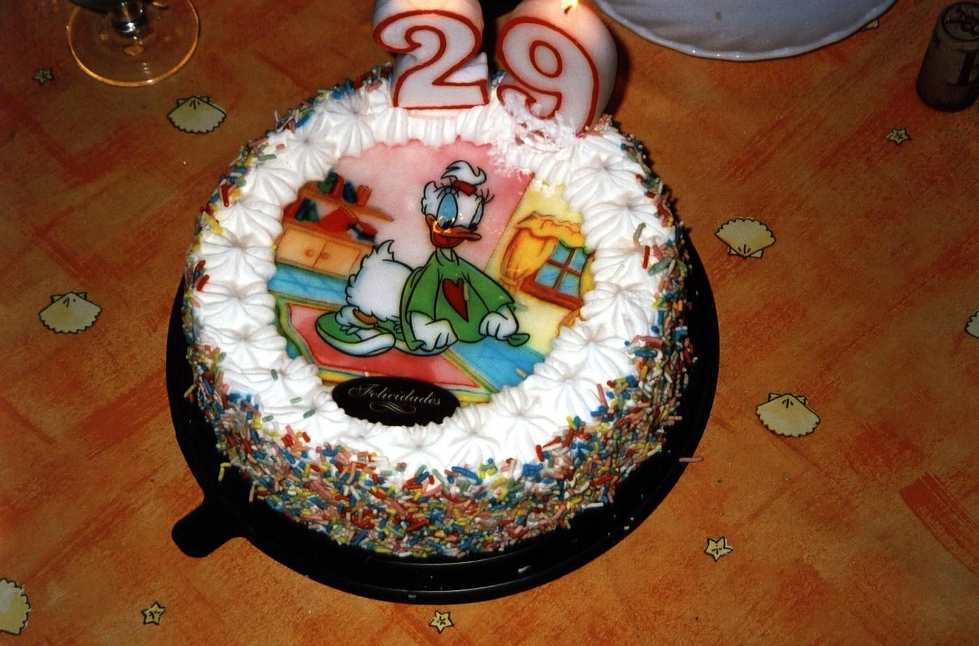 Photo Imag0626b Midnight Sonjas 29 Years Birthday Cake On April