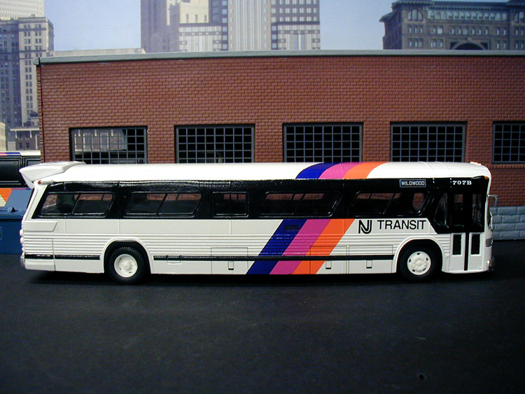 Photo New Jersey Transit Fleet Number 707b Buses Of The New