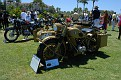 1942 BMW R75 with sidecar owned by Ziggy and Lisa Dee
