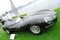 1955 Jaguar XKD race car front exterior view
