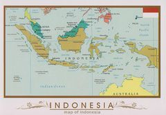 05- Map of Indonesia