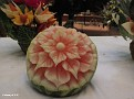 Fruit & Veg Carving QUEEN ELIZABETH 20120111 012
