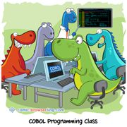 Dinosaurs - Weekly comic about web developers, software and browsers