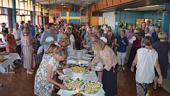 2016 12 10  045 Swedish Club Christmas Dinner Buffet