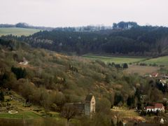 Blick vom Osterberg auf die Kilianskirche