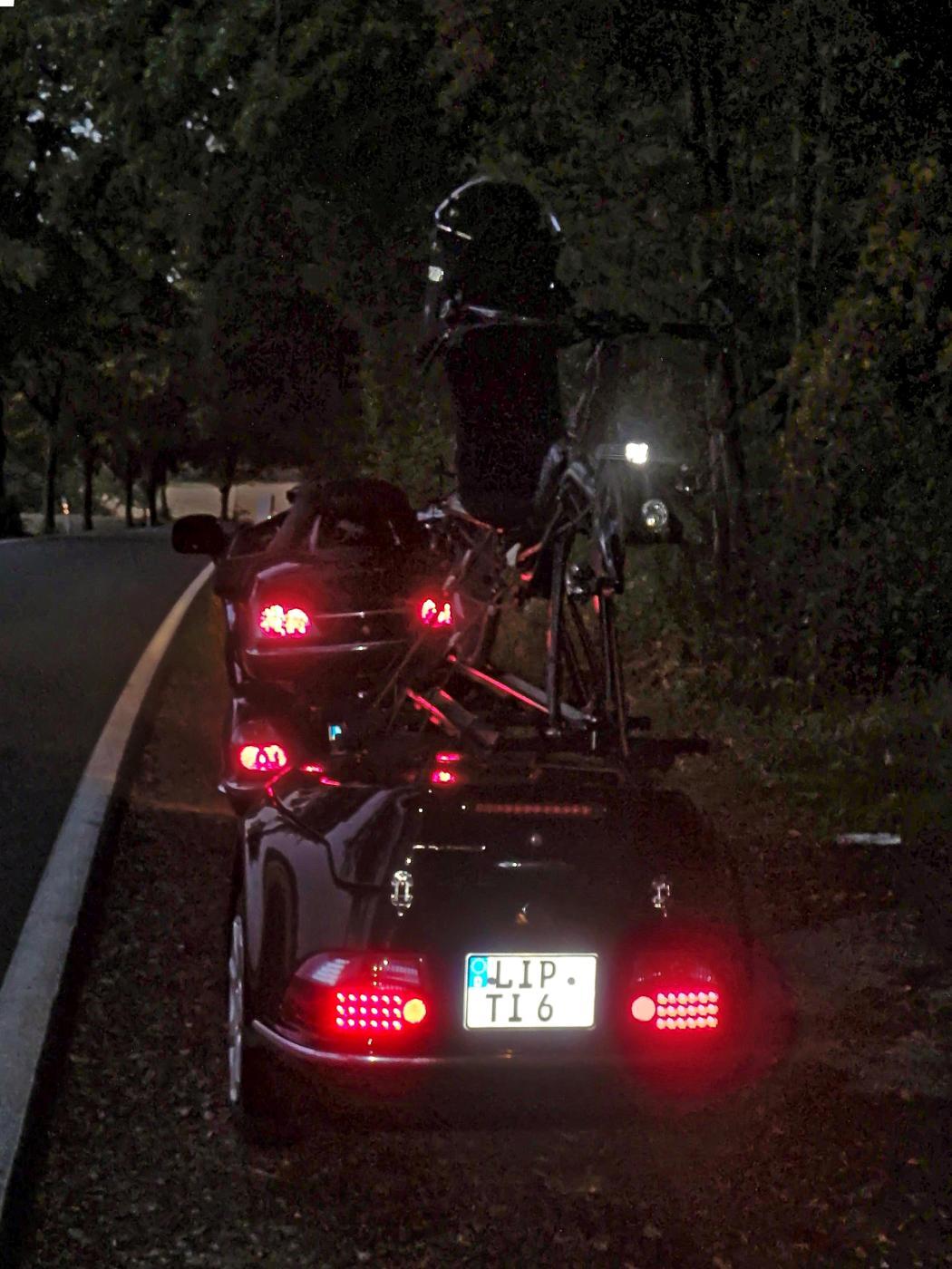 Motorisierte Heimfahrt