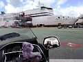 Waiting for entering the ferry
