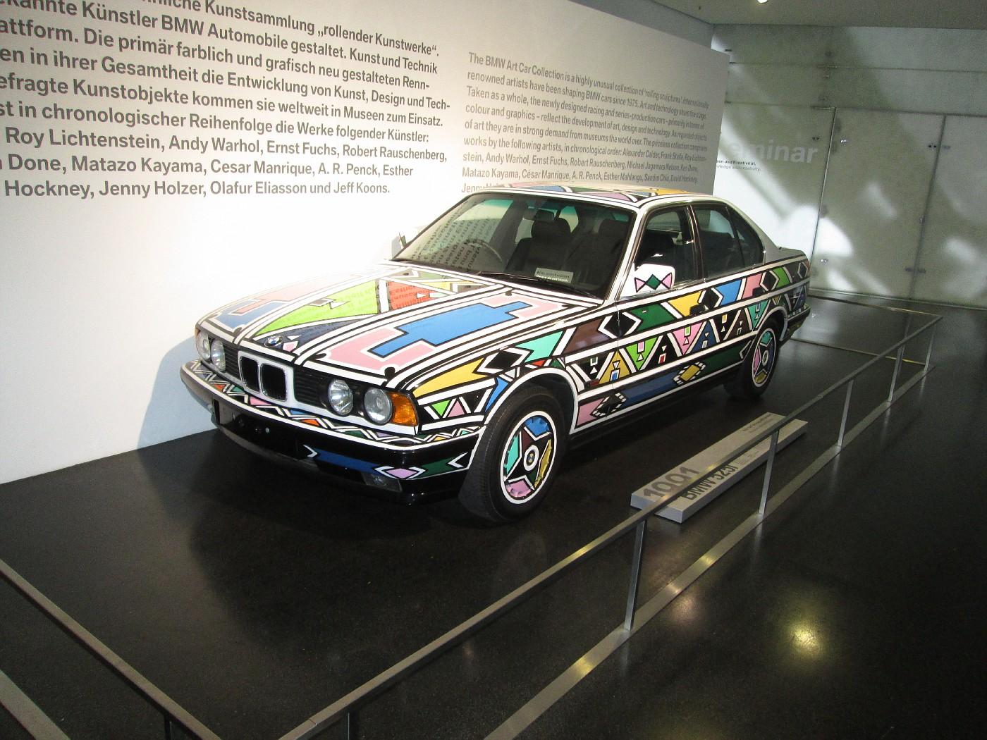 Photo BMW I Art Car Painted By BMW Museum - Bmw 525i 2013