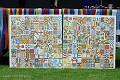 Large Two-part Mosaic For Mangotsfield Village Festival