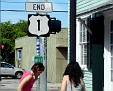 end of Route 1 that runs to Maine