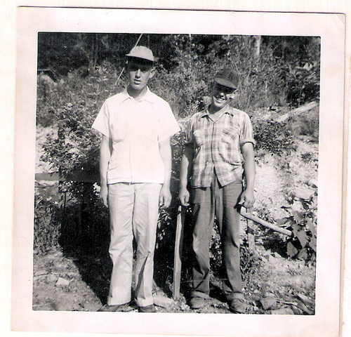 1-Great Uncles Clem & Anos Laxton