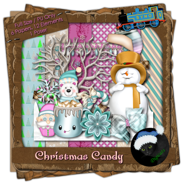 Christmas Candy Sampler (Full)