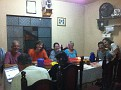 Dinner at the Lucky and José Morales Home Stay.   So nice!!!  Gracias :-)