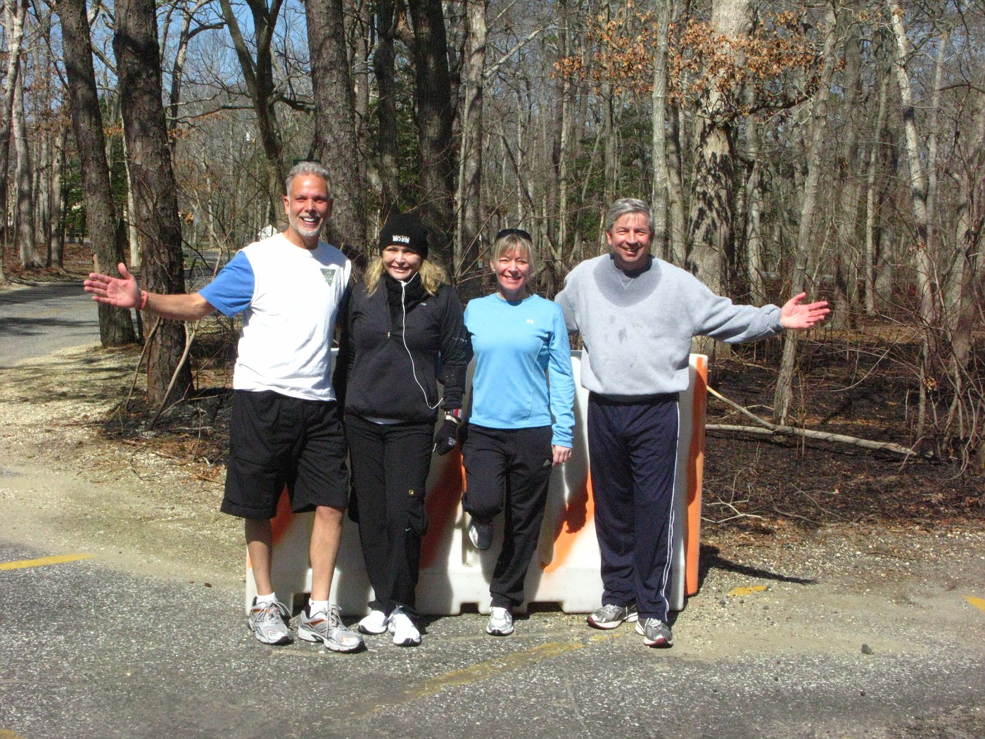 Sunday AM Running Club Photo for 3-22-09