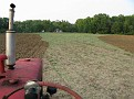 August 3rd 09 / Mowed 2 acres and Disked up the Farmfield 6 acres...  a full days work...