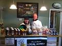 Sunday December 12, 2010.  Erin & I selling Honey & Gifts at Natali Vineyards!!!  Rain stopped and it's warm ;-)  Get out of the house, COME ON OUT!!!