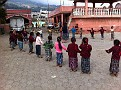 In the Municipality of Santa Maria de Jesus near Antigua, Guatemala,  we Happened upon an outdoor school function.  What Fun to watch. And it's easy to see they were enjoying the fresh air, games and friendship......
