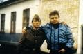 С Вадимом Степанцовым, Минск, 1985 г.