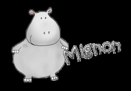 Mignon - CuteHippo2018