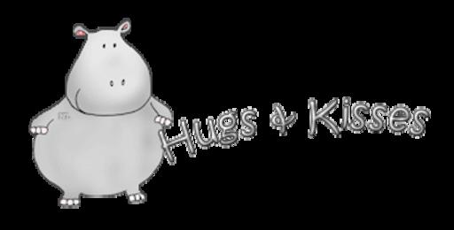 Hugs & Kisses - CuteHippo2018
