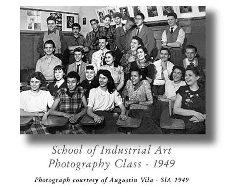 Class of 1949 Photography Class