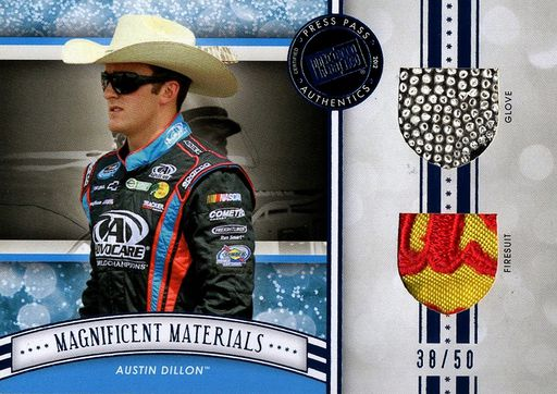 2012 FanFare Magnificent Materials Dual Austin Dillon (1)