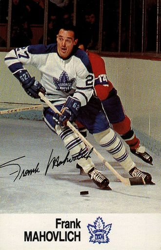 1988-89 Esso NHL All-Star Collection Frank Mahovlich (1)