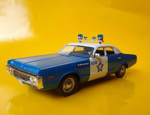 Chicago Police resin 1972 Dodge Polara