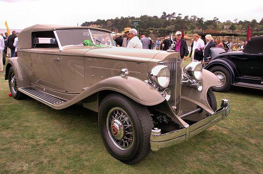 1932 Packard 906 Twin Six Dietrich Convertible Victoria, William E  (Chip) Connor, Reno, Nevada DSC 2442 -1