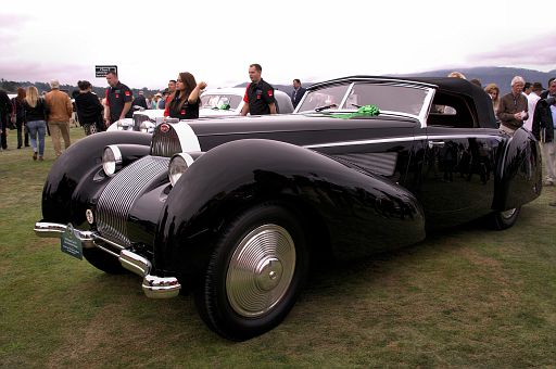 1939 Bugatti Type 57C Voll & Ruhrbeck Cabriolet, Jim Patterson, The Patterson Collection, Louisville, Kentucky DSC 2204 -1