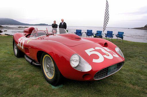 1957 Ferrari 315 S Scaglietti Spyder, John & Gwen McCaw DSC 1834 -1