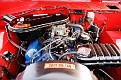 13 1966 Ford Bronco front engine compartment view