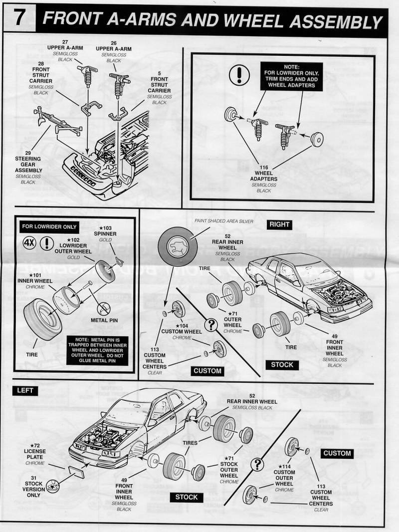 Photo 1992 Ford Cougar XR 7 Lowrider Page 6