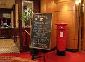 Golden Lion Pub - QM2 - Post Box
