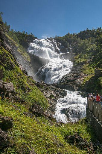Kjosfossen waterfall