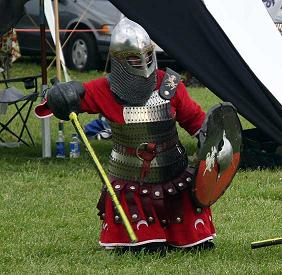 Me, in armor.