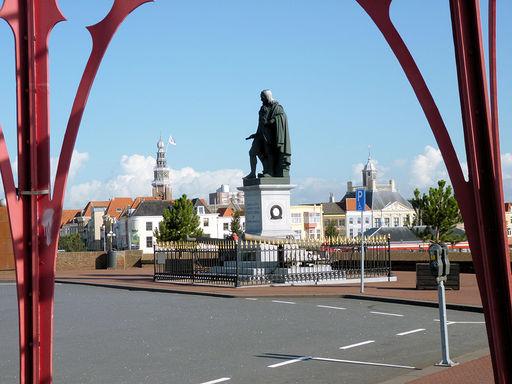 Het standbeeld van Michiel Adriaensz. de Ruyter
